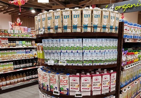 Nhiều sản phẩm của Vinamilk như sữa tươi 100% Organic, Sữa đậu nành hạt không chỉ được tin dùng trong nước mà xuất khẩu đi nhiều nước như Singapore, Hàn Quốc…