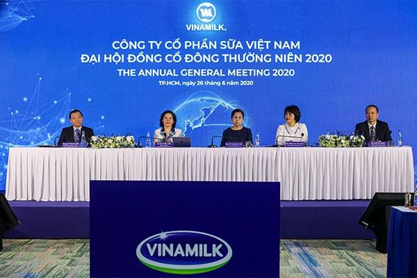 Toàn cảnh chương trình Đại hội đồng cổ đông Vinamilk