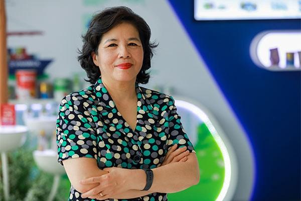 Bà Mai Kiều Liên - Tổng giám đốc Vinamilk