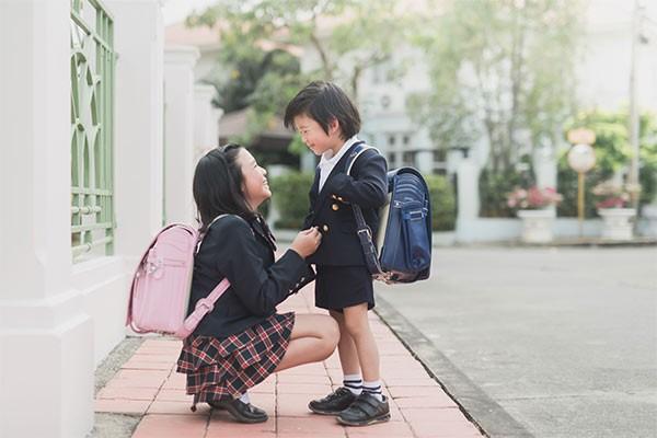 Trẻ em Nhật cũng được rèn luyện sự tự giác, tính trách nhiệm trong cuộc sống từ những việc nhỏ