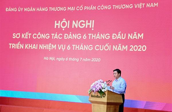 Đồng chí Lê Đức Thọ phát biểu khai mạc hội nghị