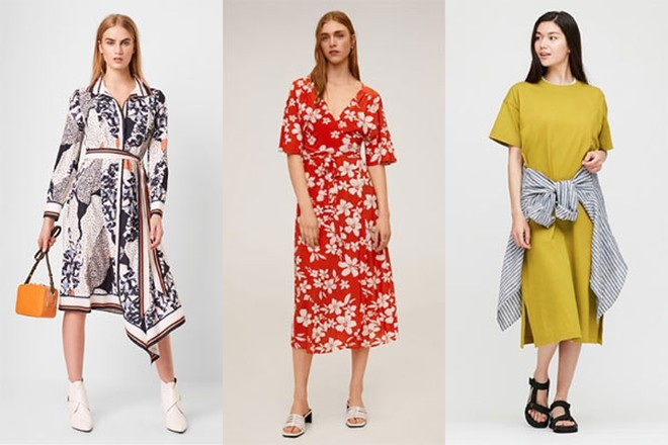 Với mức giá sau giảm chỉ từ 399.000VNĐ, nàng điệu đà nên tham khảo ngay loạt váy dài từ FCUK, Mango và Uniqlo để điểm nữ tính tăng vùn vụt.