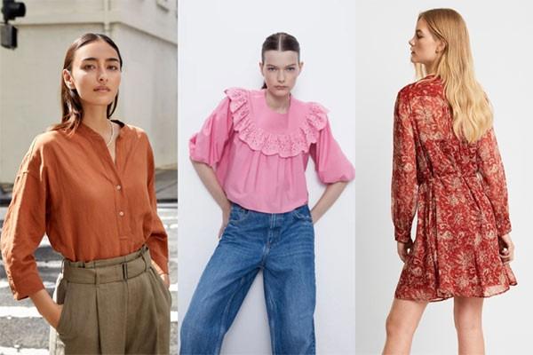 """Các mẫu trang phục """"nổi bần bật"""", diện đi chơi cũng ổn mà đi làm cũng đẹp của FCUK, Zara, Uniqlo. Tuyệt hơn là có mẫu giá gốc 2.299.000 VNĐ đang được giảm sâu chỉ còn 1.049.500 VNĐ."""