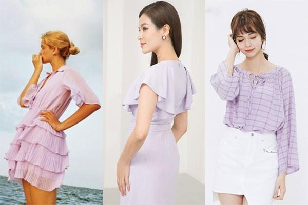 """Bạn có thể dễ dàng """"chinh phục"""" các items màu tím lilac trendy với gợi ý từ Zara, Elise và H:CONNECT, hiện đang giảm sâu tới 50%, chỉ còn từ 399.000VNĐ."""
