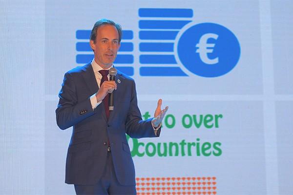 Ông Berend van Wel, Tổng Giám đốc FrieslandCampina Việt Nam chia sẻ về những đóng góp tích cực cho sự phát triển kinh tế xã hội đất nước