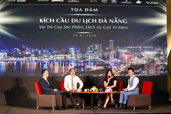 """Tọa đàm """"Kích cầu du lịch Đà Nẵng: Vai trò của sản phẩm, dịch vụ giải trí đêm"""""""
