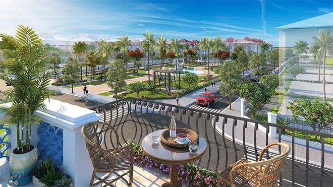 Phân khu Mallorca tại Sun Grand City Feria được bao quanh bởi 2 công viên, sân thể thao và hồ nước lớn nhất