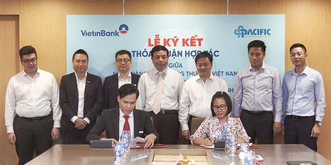 Thỏa thuận hợp tác giữa VietinBank Thành An và Công ty cổ phần năng lượng Pacific - Bình Thuận được ký kết