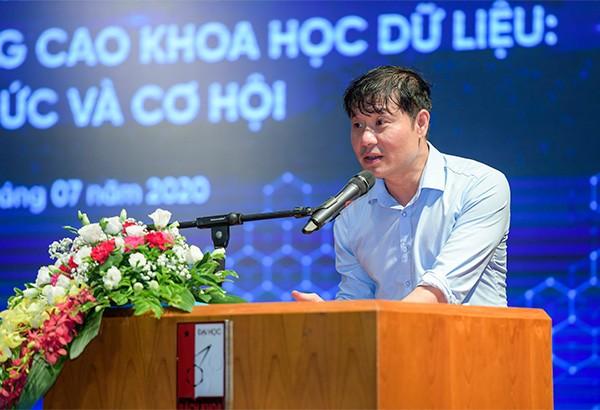 Giáo sư Vũ Hà Văn – Giám đốc khoa học Viện nghiên cứu dữ liệu lớn VinBigdata nhấn mạnh tầm quan trọng của ngành khoa học dữ liệu.