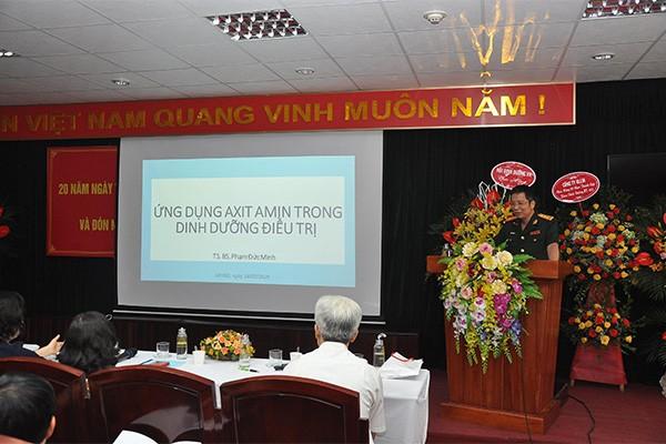 TS. BS. Phạm Đức Minh chia sẻ về vai trò của axit amin trong dinh dưỡng điều trị.