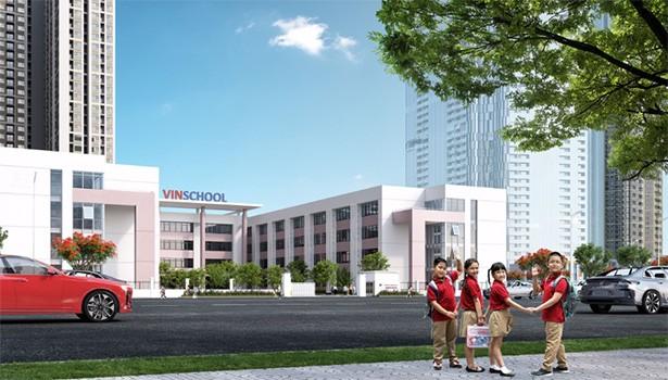 Trường phổ thông liên cấp Vinschool nằm kế cận