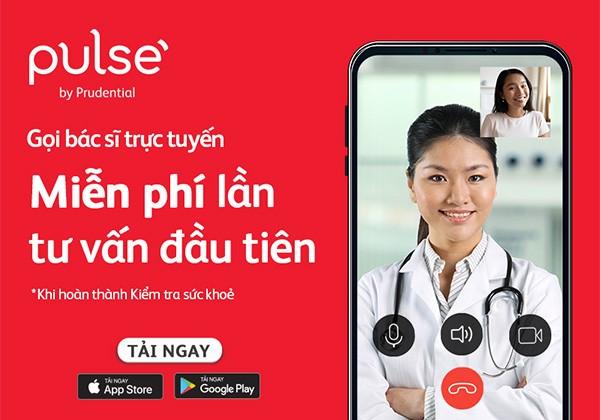 Tư vấn sức khỏe miễn phí với bác sĩ trực tuyến trên ứng dụng Pulse by Prudential
