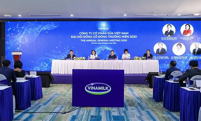 Tháng 6/2020, Vinamilk tổ chức thành công Đại hội đồng cổ đông theo hình thức trực tuyến, thống nhất đề ra mục tiêu tăng trưởng dương trong năm 2020