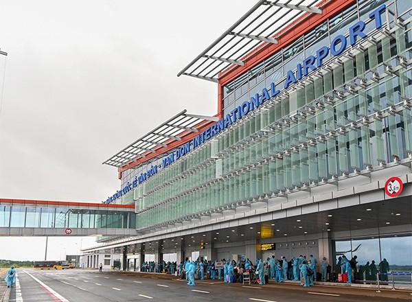 Sân bay Vân Đồn đón chuyến bay từ Pháp theo quy trình đặc biệt