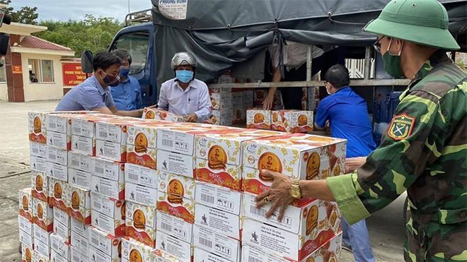 Sản phẩm nhanh chóng được trao gửi về các địa bàn tỉnh Quảng Nam