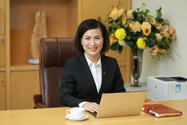 Bà Bùi Thị Thanh Hương – Phó Chủ tịch HĐQT, Tổng Giám đốc Sun Group