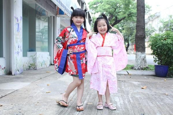 Á quân Vietnam's got talent Bích Ngọc đáng yêu trong trang phục kimono ảnh 1