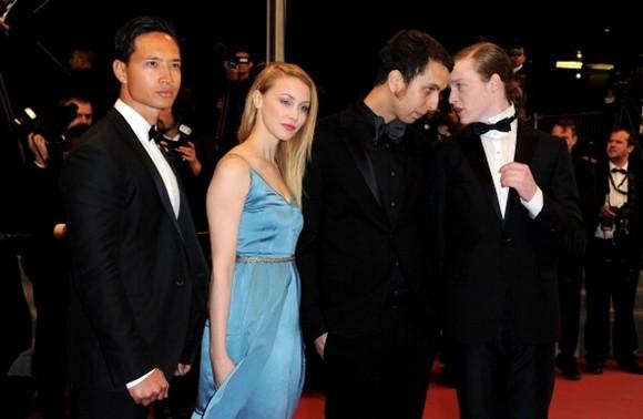 Kim Lý tại Liên hoan phim Cannes nằm 2012