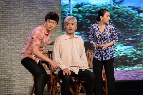"""Chồng """"hoa hậu hài"""" Thu Trang trở thành """"kẻ tham lam"""", """"bắt"""" Lê Khánh làm... nô tỳ ảnh 1"""