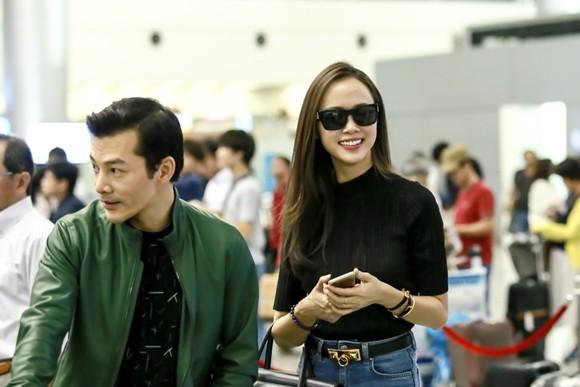 """Cặp đôi phim """"Quyên"""" Trần Bảo Sơn - Vũ Ngọc Anh lên đường dự liên hoan phim Busan ảnh 6"""