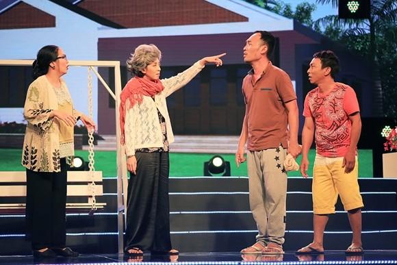"""Thu Trang trở thành """"mẹ vợ"""" của chồng mình - nghệ sĩ Tiến Luật ảnh 4"""