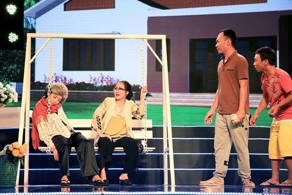 """Thu Trang trở thành """"mẹ vợ"""" của chồng mình - nghệ sĩ Tiến Luật ảnh 5"""