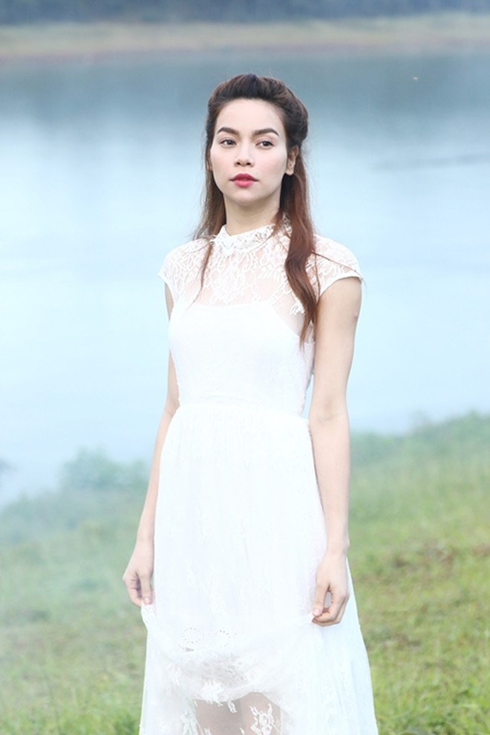 Hồ Ngọc Hà đẹp ma mị giữa hồ Tuyền Lâm ảnh 5