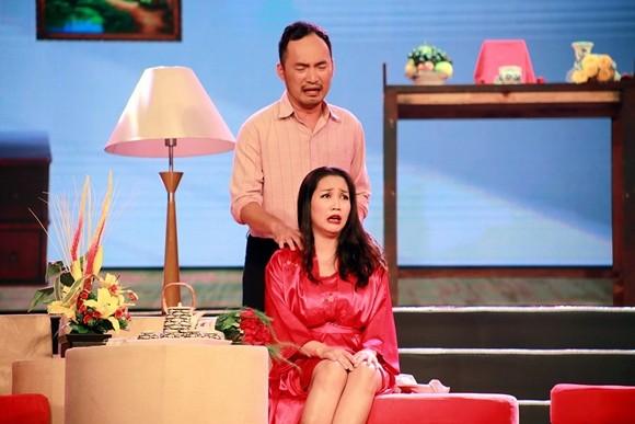 """""""Ốc"""" Thanh Vân ve vãn chồng Thu Trang ảnh 1"""