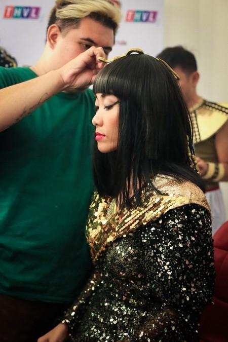 Đoan Trang tạo hình nữ hoàng Ai Cập, Lê Khánh làm nữ cận thần ảnh 3