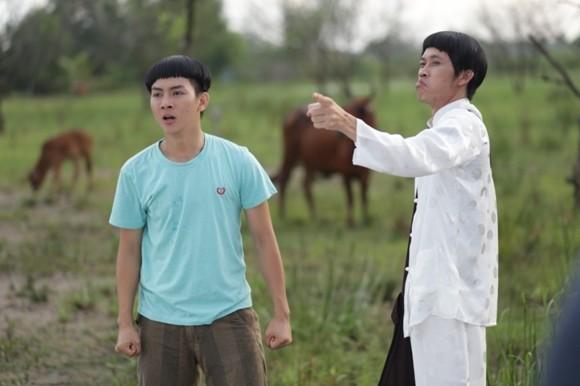 """Hoài Lâm hài hước với kiểu tóc """"đầu nấm"""" trong phim Tết ảnh 5"""
