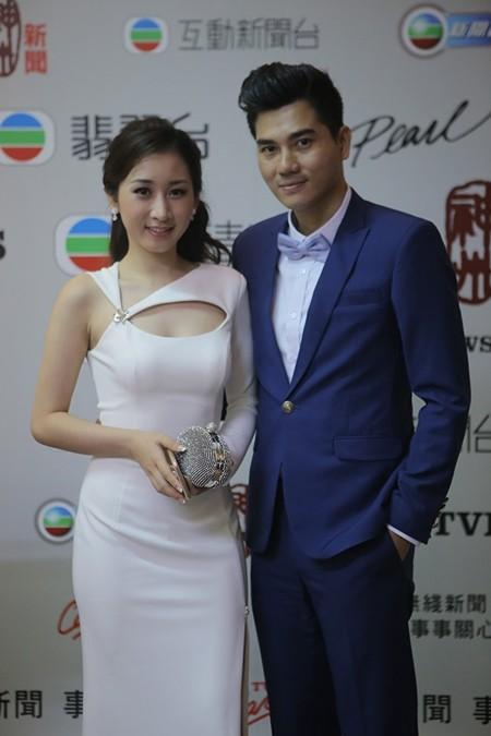 Vương Thu Phương, Diệu Huyền dự sinh nhật đài TVB Hong Kong ảnh 3