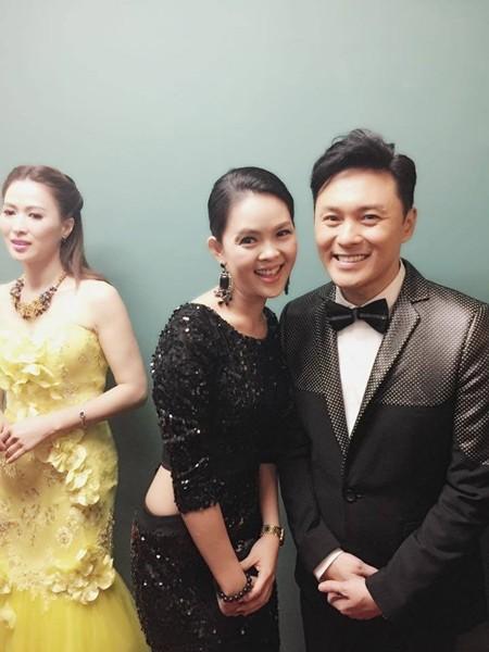 Vương Thu Phương, Diệu Huyền dự sinh nhật đài TVB Hong Kong ảnh 5