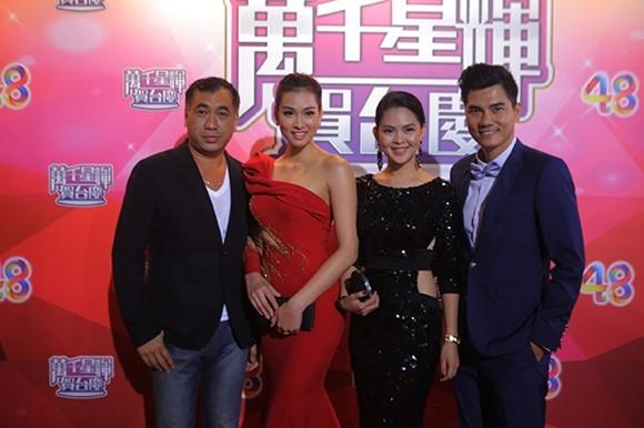 Vương Thu Phương, Diệu Huyền dự sinh nhật đài TVB Hong Kong ảnh 8