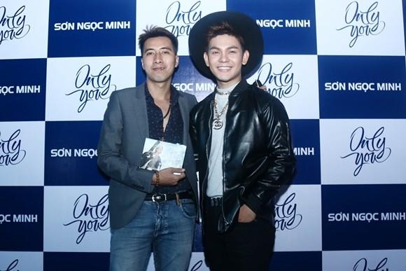 Sao Việt hội ngộ chúc mừng Sơn Ngọc Minh ra mắt album ảnh 5
