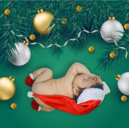 Nhật Kim Anh ghi lại hình ảnh Giáng sinh đầu tiên cùng chồng, con ảnh 3