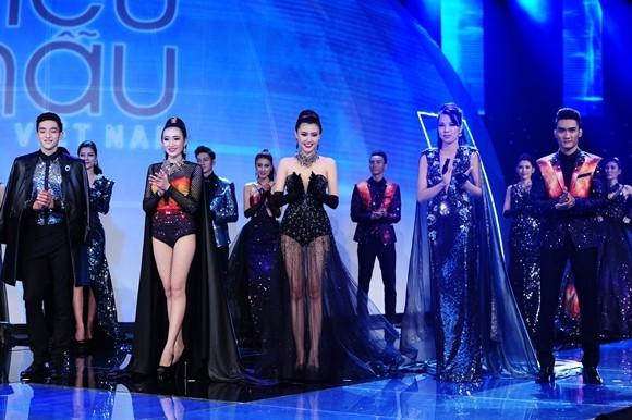 Á khôi Khả Trang và người mẫu trẻ Tuấn Anh đăng quang Siêu mẫu Việt Nam 2015 ảnh 7