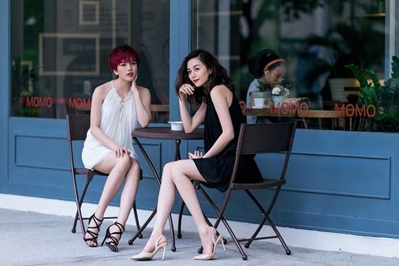 Thiều Bảo Trang - Thiều Bảo Trâm cực gợi cảm với thời trang dạo phố ảnh 9