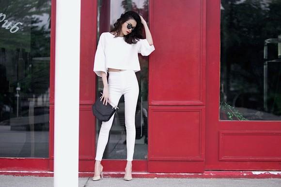 Thiều Bảo Trang - Thiều Bảo Trâm cực gợi cảm với thời trang dạo phố ảnh 6