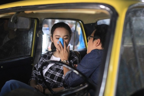 """Angela Phương Trinh sẽ """"cặp kè"""" cùng Trường Giang trong phim hành trình """"Taxi, em tên gì?"""" ảnh 10"""