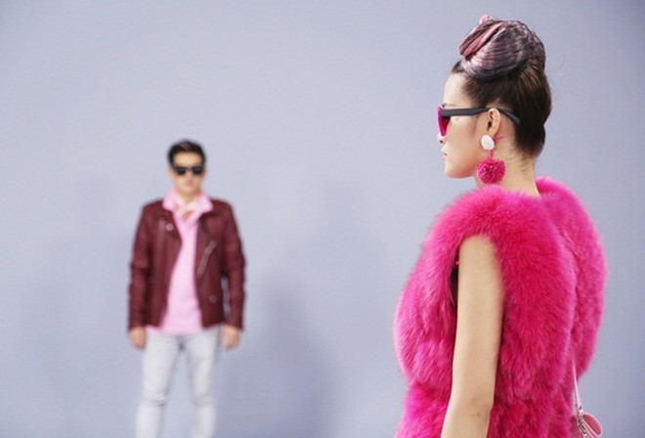 """Đông Nhi đầy cá tính với sắc hồng trong dự án """"Pink girl"""" ảnh 7"""