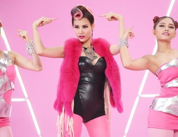"""Đông Nhi đầy cá tính với sắc hồng trong dự án """"Pink girl"""" ảnh 9"""