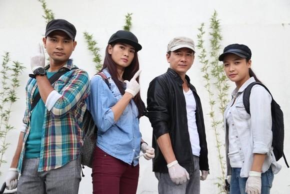 Đội phá an: Huỳnh Đông, Anh Thư, Bảo Trung, Lê Bê La