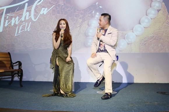 Lều Phương Anh chia sẻ quá trình thực hiện album cùng MC Anh Khoa