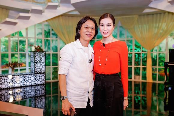 Nhạc sĩ Nguyễn Quang và MC diễn viên Thanh Mai