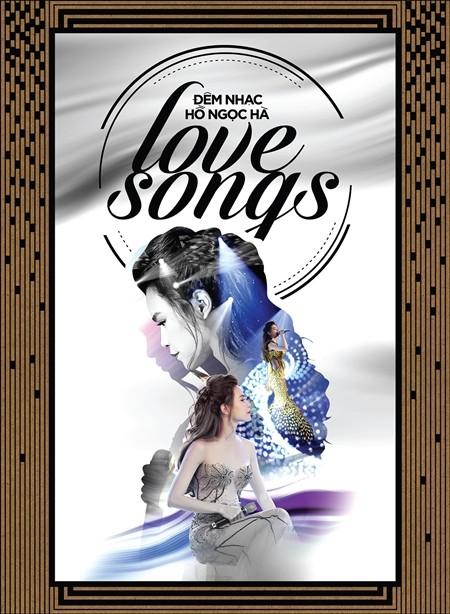 """Bìa trước của DVD đêm nhạc """"Love songs"""""""