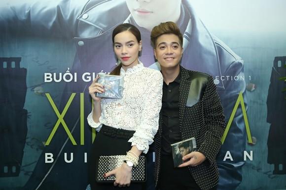 Bùi Anh Tuấn cũng vừa gia nhập công ty giải trí, người đại diện của công ty này là quản lý của nữ ca sĩ Hồ Ngọc Hà - Trần Thành Trung