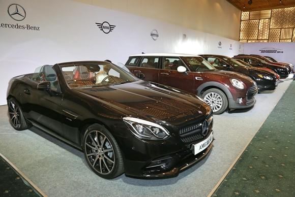 Triển lãm ô tô quốc tế lần thứ 2 diễn ra tại TP Hồ Chí Minh