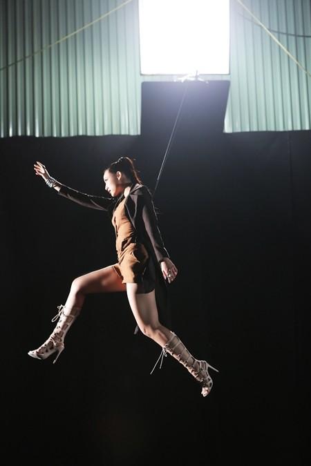 Lily Nguyễn rất sợ độ cao