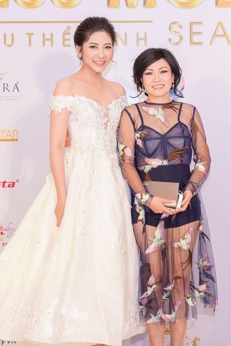 Phương Thanh và Hoa hậu Đại dương Đặng Thu Thảo