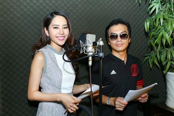 Mạnh Quỳnh- Nam Em thu âm ca khúc xuân tri ân khán giả